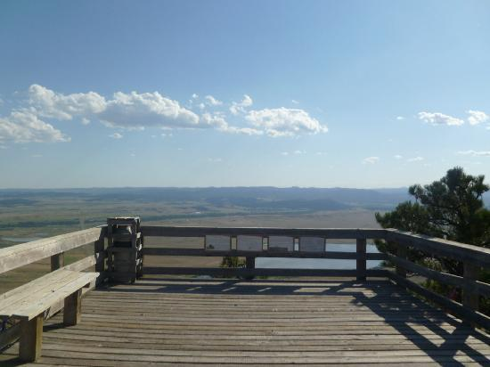 Bear Butte State Park: view from the top