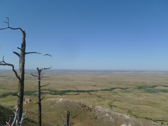 Bear Butte State Park: view