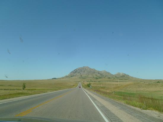 Bear Butte State Park: drive in