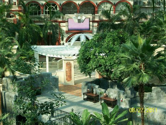 Gaylord Palms Resort & Convention Center: From the belcony