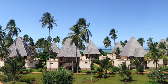 Neptune Pwani Beach Resort & Spa: Überblick Hotelanlage