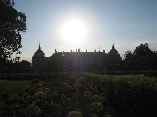Royal Palace of Aranjuez: Parte trasera del palacio
