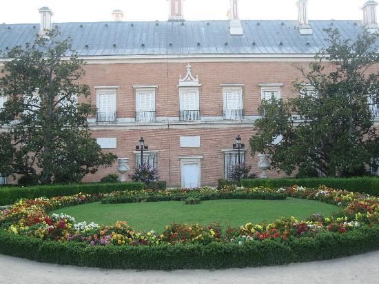Royal Palace of Aranjuez: parte trasera palacio