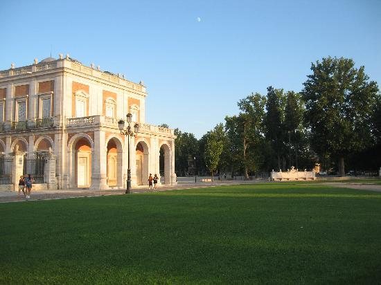 Royal Palace of Aranjuez: lado derecho