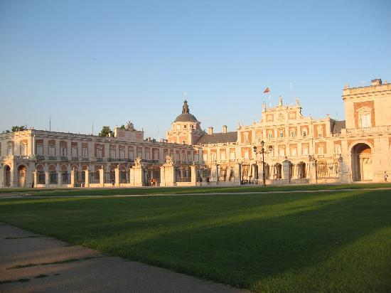 Royal Palace of Aranjuez: frente