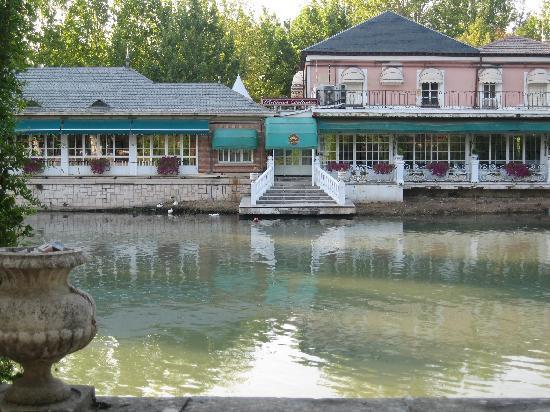 Royal Palace of Aranjuez: El río Tajo