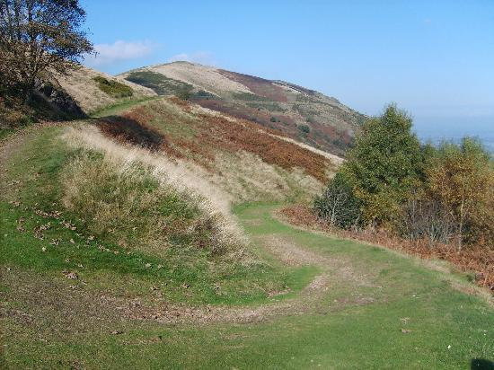 Malvern Hills: Nearly at the top
