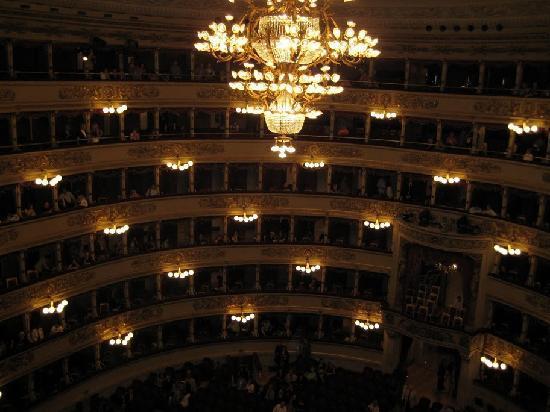 Mailänder Scala (Teatro alla Scala): La Scala