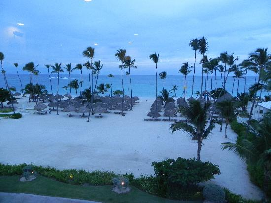 Iberostar Grand Bavaro: veiw from spa @ evening time