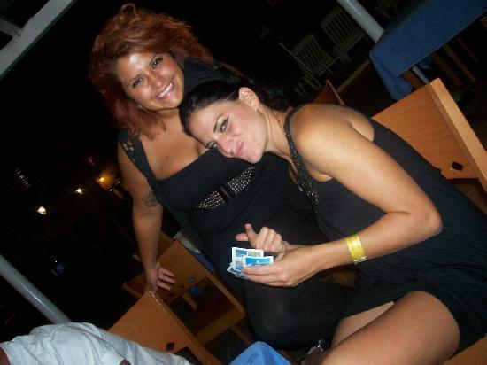 Hotel Playasol Cala Tarida: Manuella and Marianne
