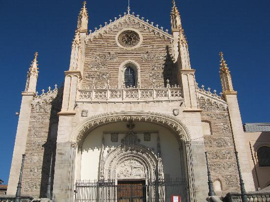 มาดริด, สเปน: los jeronimos church, it was cathedral