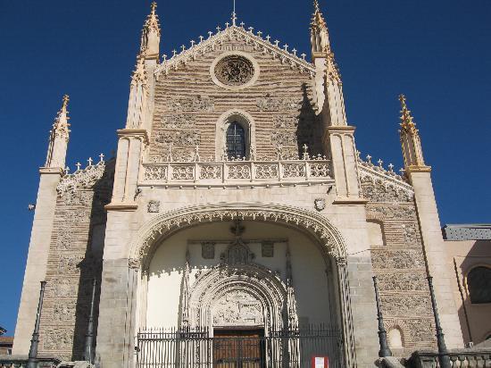 Los jeronimos church it was cathedral foto di madrid for Calle prado de la iglesia guadarrama