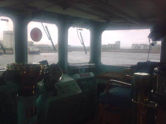 เรือพระที่นั่งบริทานเนีย: The Captains chair