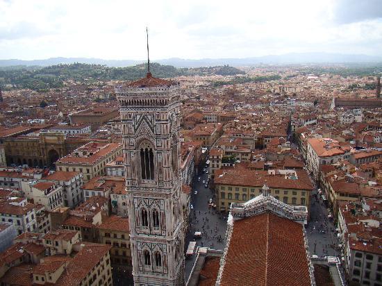 มหาวิหารศานตามาเรีย เดลฟิโอเร: The view from the dome