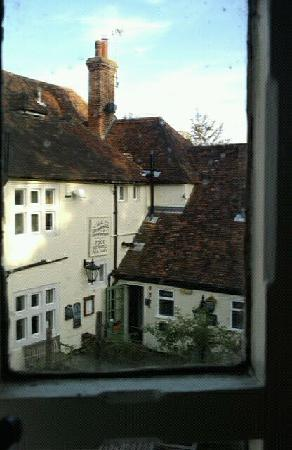 Woolpack Inn: View from room 14