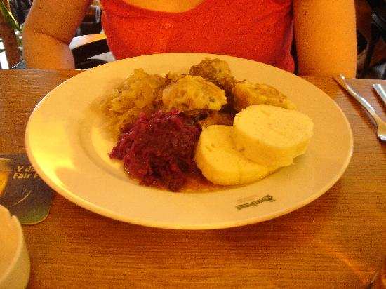 V Kolkovne Restaurant: Moravian Sparrow