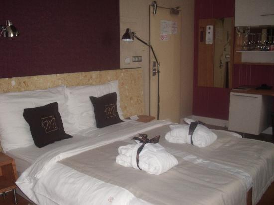 Mama's Design & Boutique Hotel: Our bedroom