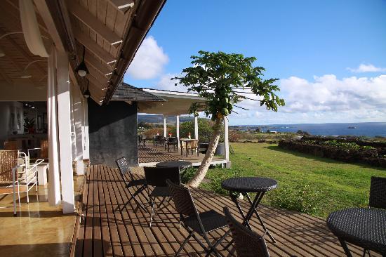 Hotel Altiplanico: vista terraza 2