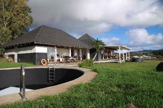 Hotel Altiplanico: Vista piscina
