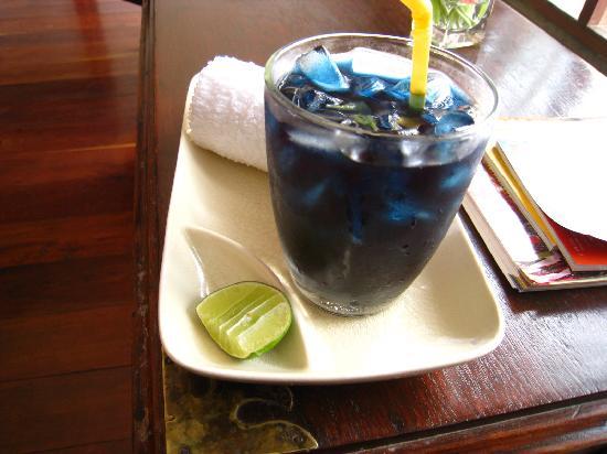 Frangipani Spa: 待ち時間にはお茶をくれます