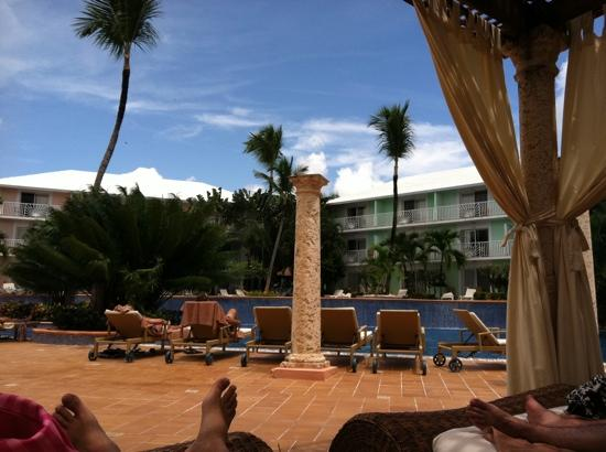 Excellence Punta Cana: Cascading pool