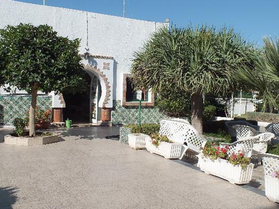 Hotel les Jasmins: terrassse