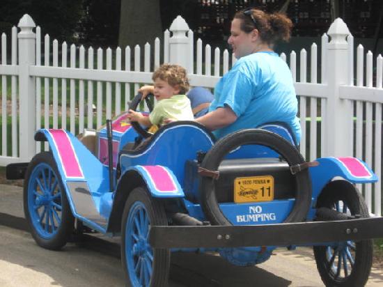Dutch Wonderland: Everyone can drive!!