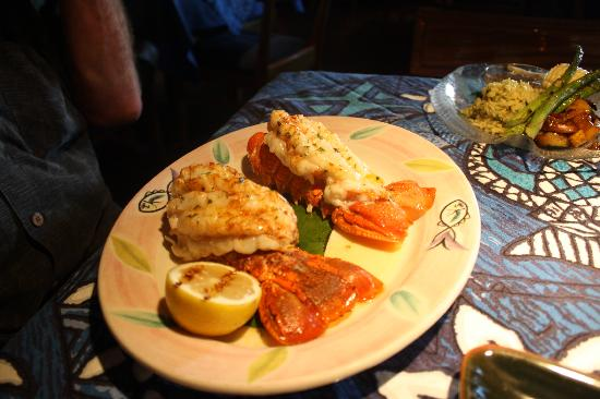 Mama's Fish House: Twin lobster Tails