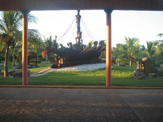 Cayo Santa Maria (เกาะคาโย ซานตา มารีอา), คิวบา: entrance lobby Melia Cayo Santa Maria