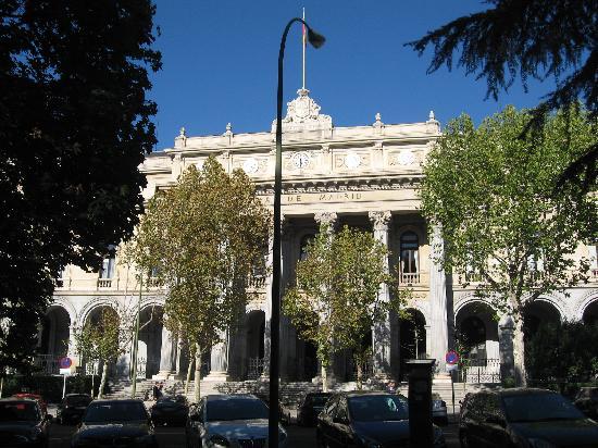 มาดริด, สเปน: madrid burse building
