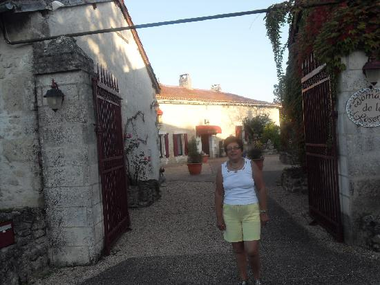 Domaine De Brantome Holiday Rentals : outside gates to domaine