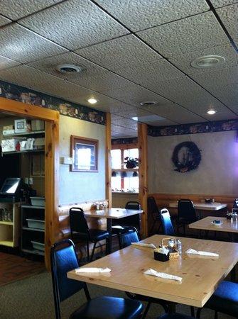 Merlin's Family Restaurant: in the dinning area