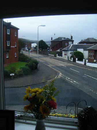 St Leonards Guest house: View from the window