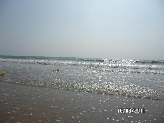Playaballena Spa Hotel: playa preciosa y limpia