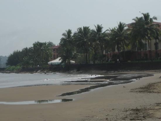 กัวมาริออทรีสอร์ทแอนด์สปา: VIEW FROM MIRAMAR BEACH
