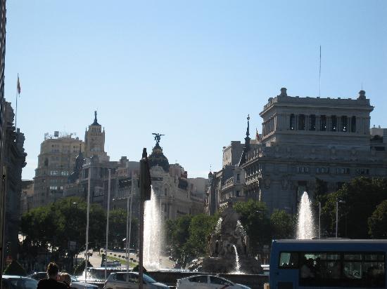 มาดริด, สเปน: cibeles square, alcala street