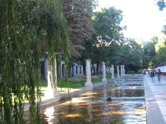 มาดริด, สเปน: nice walk in recoletos avenue- paso de recoletos