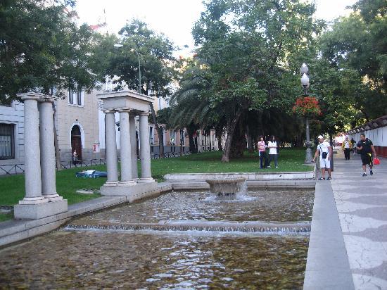 มาดริด, สเปน: recoletos avenue, nice afternoon there