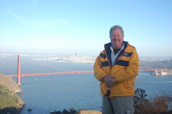 ฮอลิเดย์อินน์ ซานฟรานซิสโก ฟิชเชอร์แมนส์: Me and THE bridge!