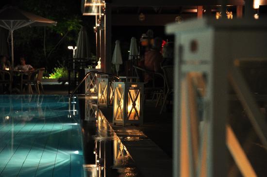 TUI Sensimar Lindos Bay Resort & Spa: Cool elements at the pool