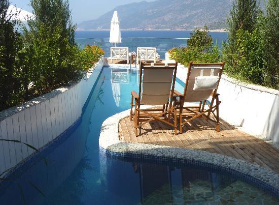 Peninsula Gardens Hotel: Our terrace
