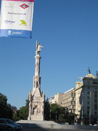 มาดริด, สเปน: columbus sqauare tribute