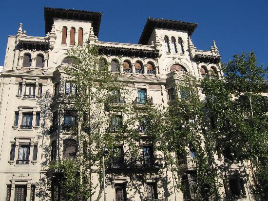 มาดริด, สเปน: house in columbus square, serrano street