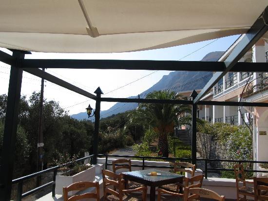 Nissaki Sea View Hotel Apartments: Terrace