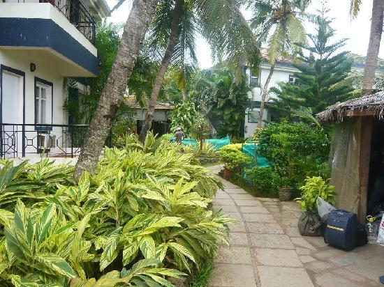 ซานทานา บีช รีสอร์ท: Resort front view