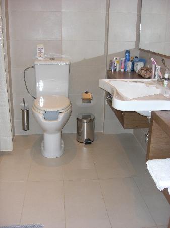 Atlantica Eleon Grand Resort & Spa: Thron WC