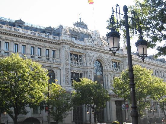 มาดริด, สเปน: bank of spain at alcala street