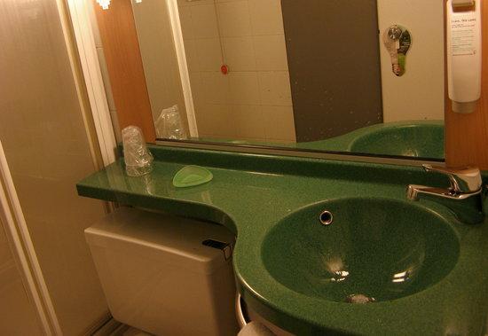 ไอบิสมิลาโน เซ็นโทร: shower room