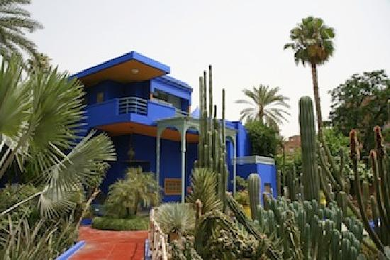 Travel Exploration Morocco Private Tours: Majorelle Gardens, Marrakech