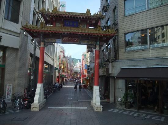 Chinatown (Nankinmachi): Kobe Chinatown Gate